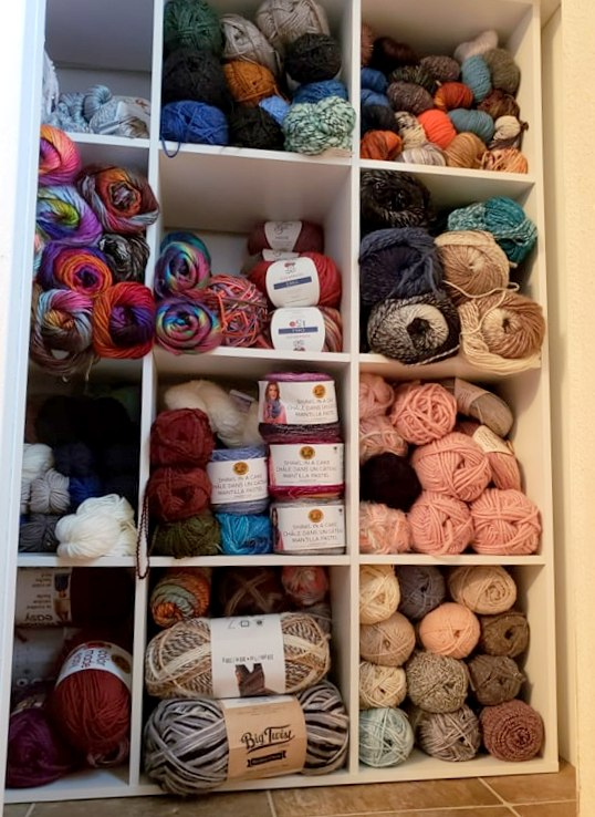 Organizing That Yarn Stash!