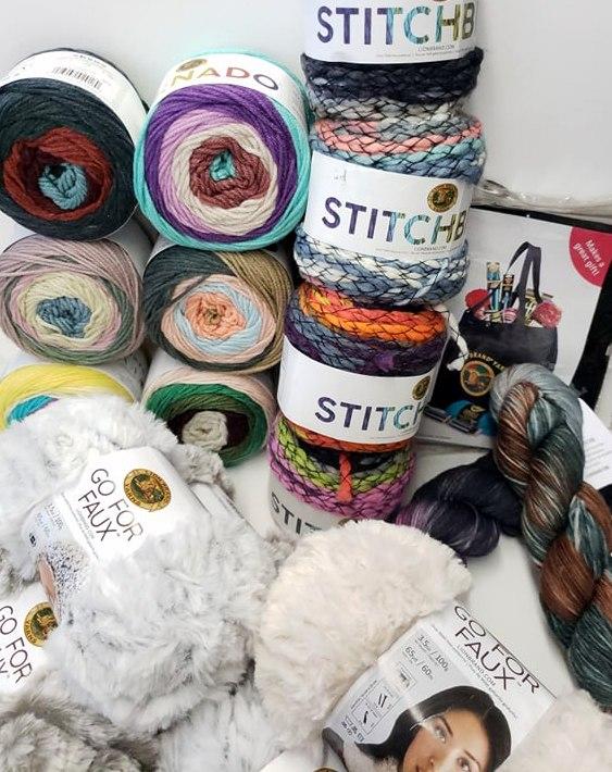 lion brand yarn order