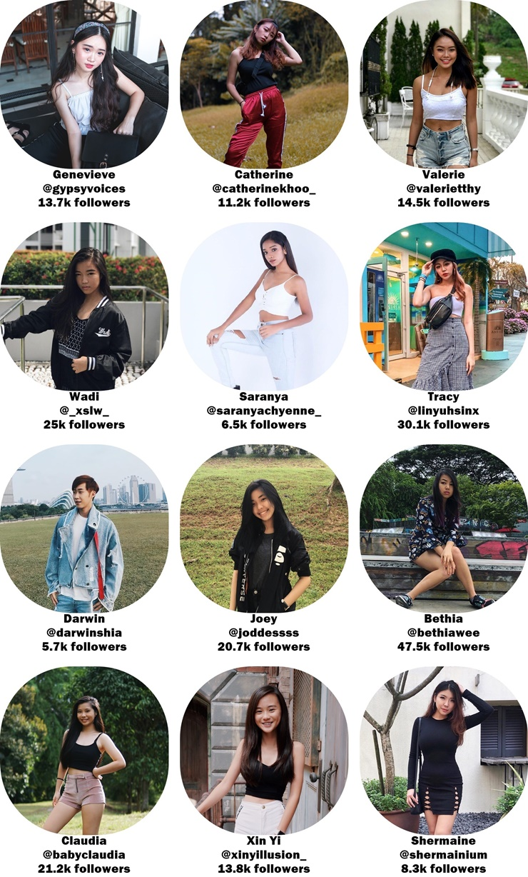 Singapore Influencers