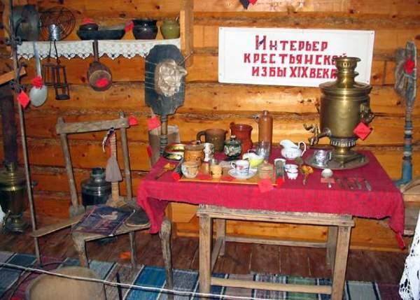 Экскурсия в краеведческий музей села Андреевка.