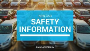 Shopping for a New Car? Must Read Safety Article