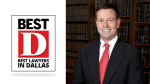 Read more about the article D Magazine Recognizes Tim O'Hare as One of Dallas' Best Lawyers