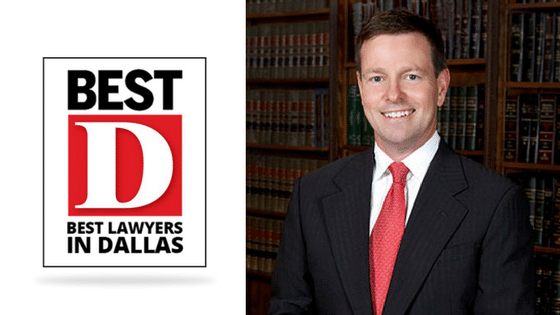 D Magazine Recognizes Tim O'Hare as One of Dallas' Best Lawyers