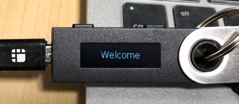 Ledger Nano Sの初期設定