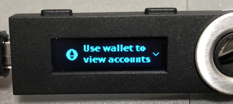 Ledger nano SとMyEtherWalletの連携方法、送金方法