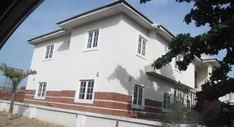 4-Bedroom Semi-Detached Duplex with 1 room Boys' Quarter