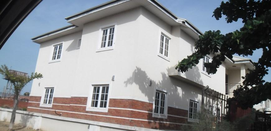 4-Bedroom Semi-Detached Duplex with 1 room Boys' Quarter
