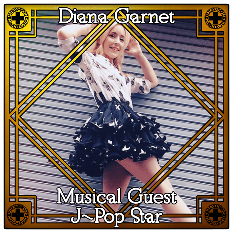 Diana Garnet Musical Guest J-Pop Star