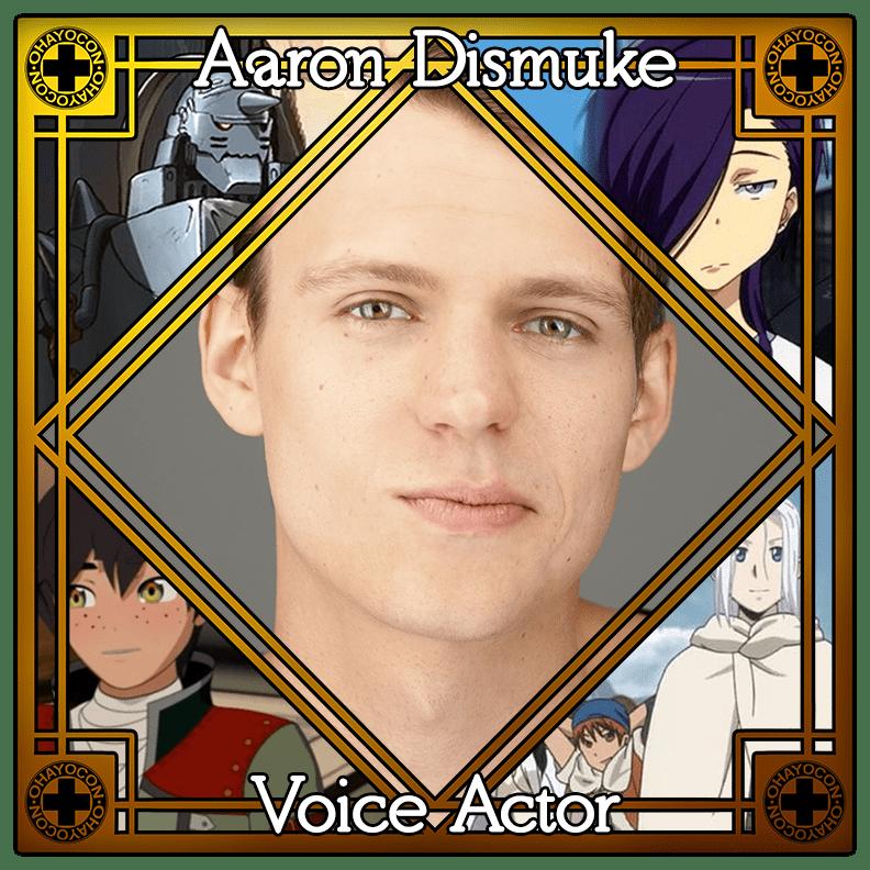 Aaron Dismuke voice actor