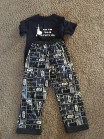Star Wars pjs