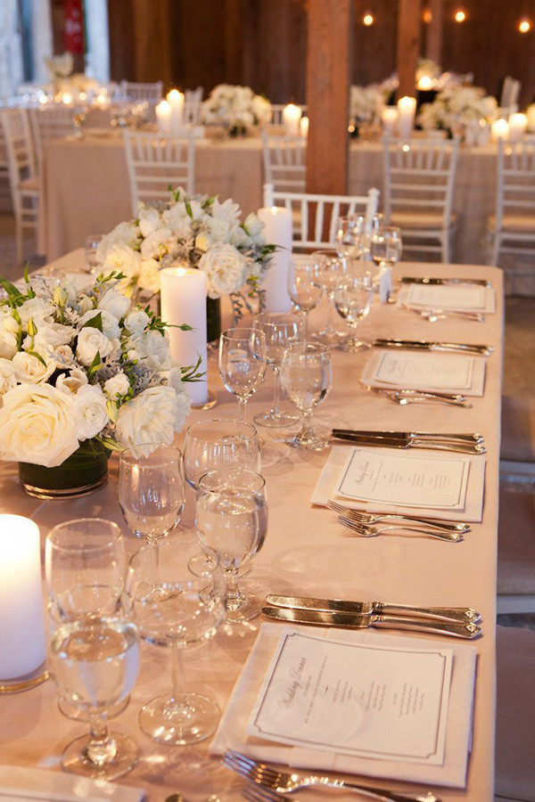 15 Sophisticated Wedding Reception Ideas - Oh Best Day Ever