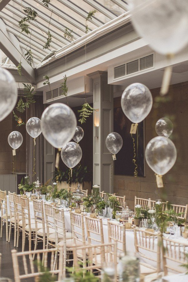 16 Romantic Wedding Decoration Ideas With Balloons Oh