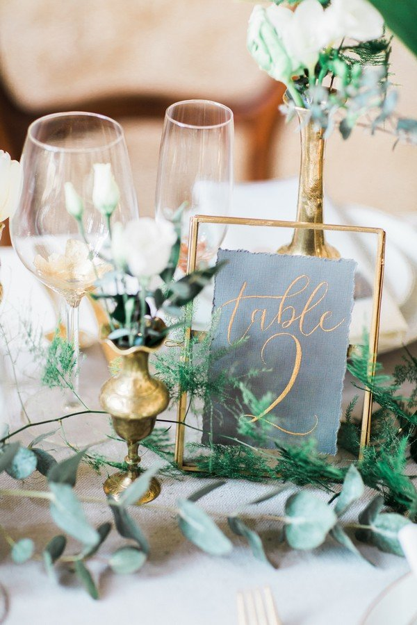 18 Inspiring Wedding Table Number Ideas To Love Oh Best