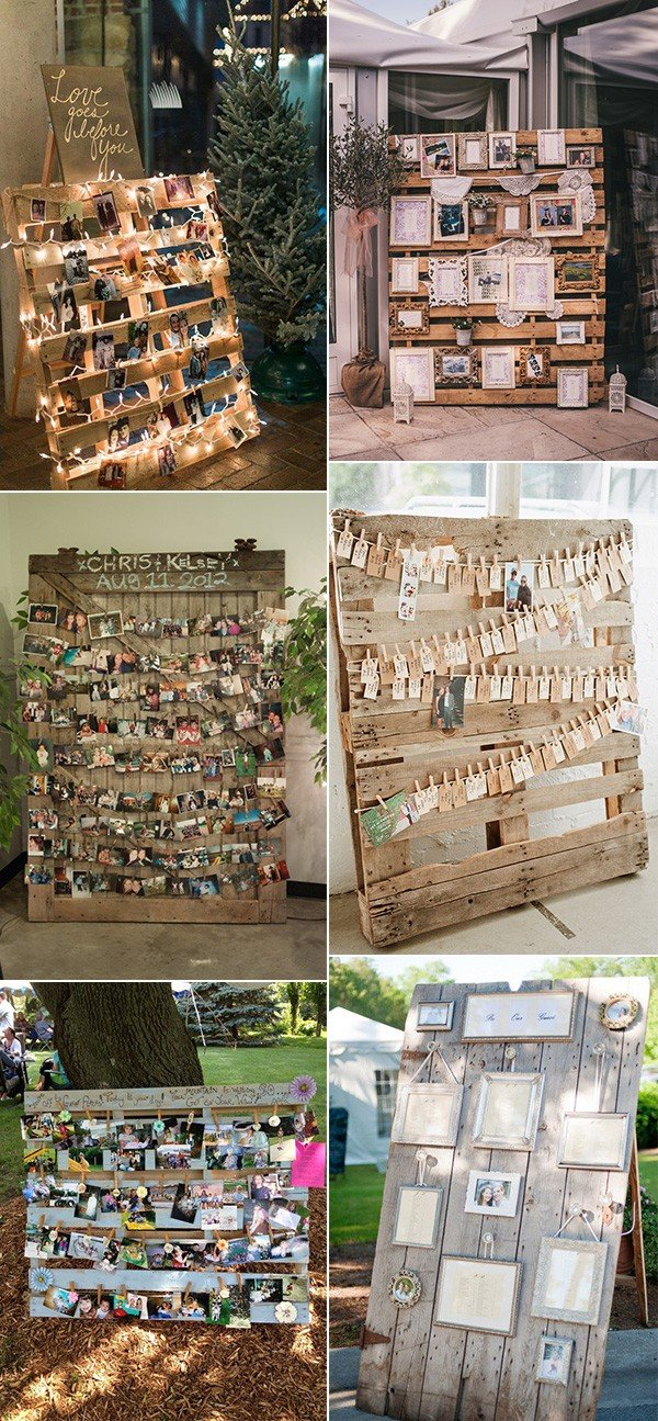 24 Ideas To Use Wood Pallet For Your Country Wedding Oh