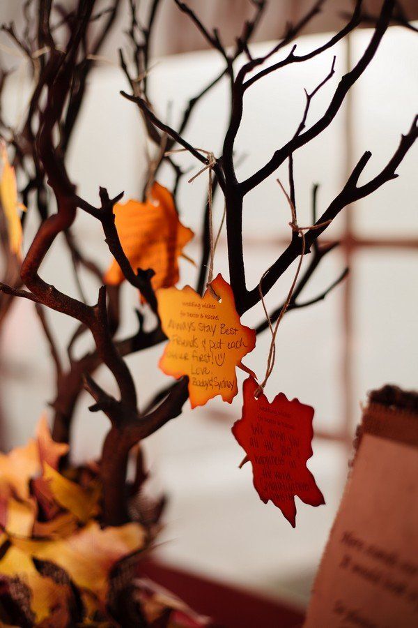 Fall Wedding Trees
