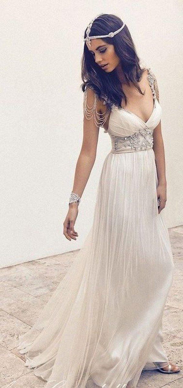 Top 18 Boho Wedding Dresses For 2018 Trends Oh Best Day Ever