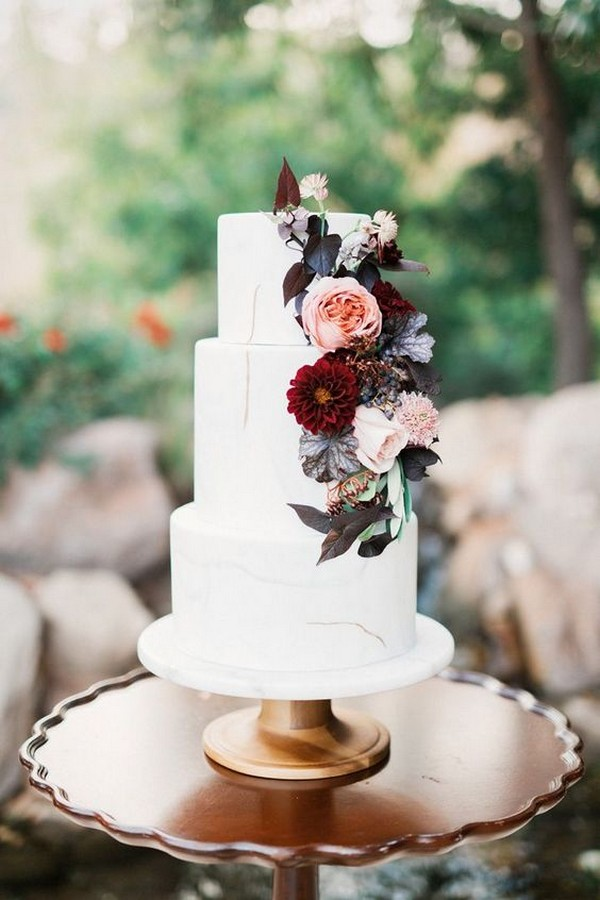 25 Trending Delicious Fall Wedding Cakes For 2019 Page 2