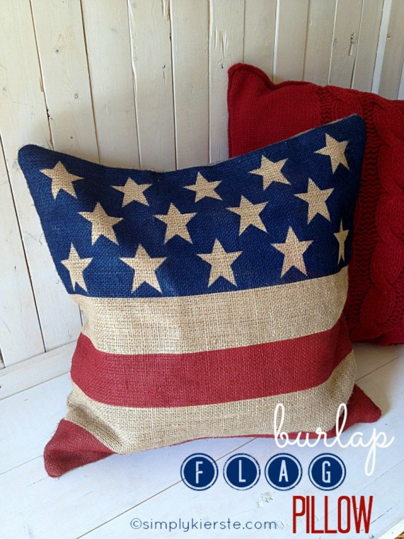 Burlap Flag Pillow. Paper Star Lights Garland. 10 Easy 4th of July Crafts to Make in 2018. Fourth of July is the perfect time to do some DIY projects to celebrate America! Make your house look patriotic with these simple red white and blue crafts. You can find 4th of July wreaths, centrepieces, firecrackers and all other 4th of July decor here. Most of these 4th of July crafts can be made by kids and toddlers. 4th of July crafts kids, 4th of July Crafts DIY, 4th of July crafts preschoolers #4thofJulycrafts