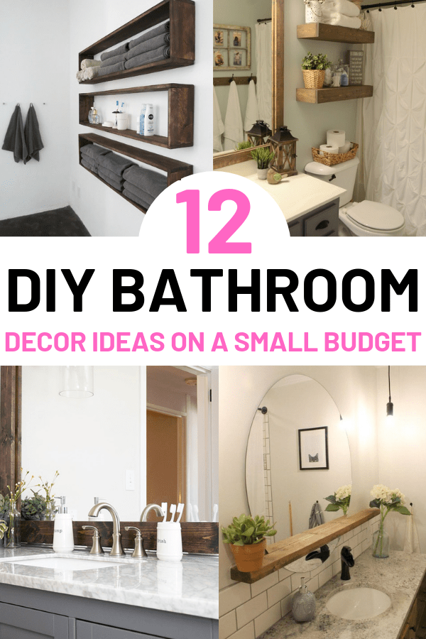12 Diy Bathroom Decor Ideas On A Budget You Can T Afford To Miss Out On