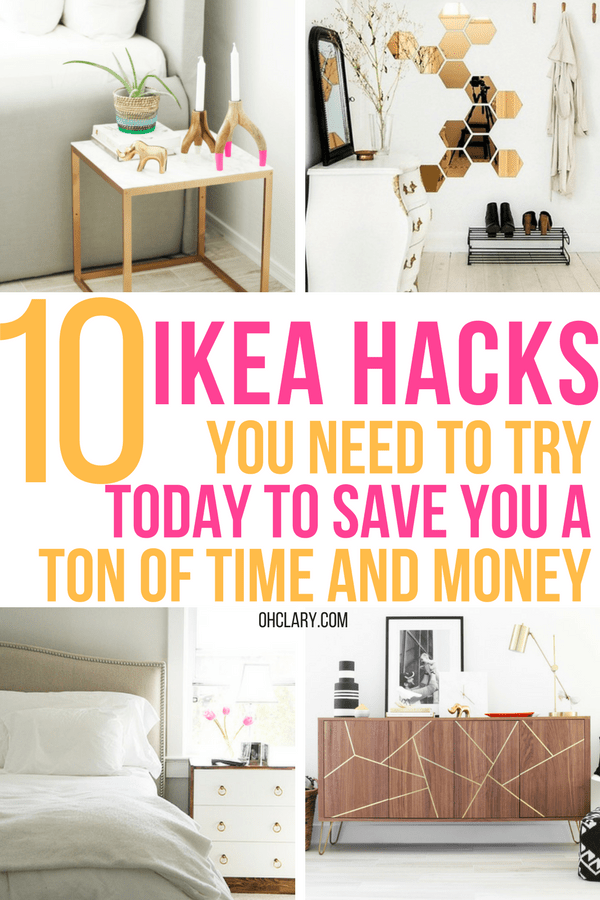 10 DIY IKEA Hacks That Will Save You A Ton Of Money - OhClary