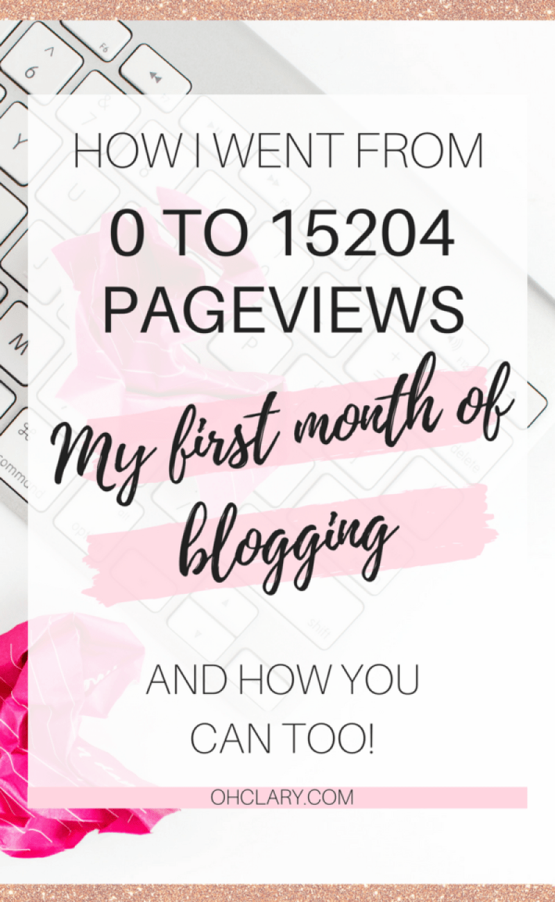 I received over 15 thousand page views in my very first month of blogging in February 2018! I am sharing all my simple tips on how you can receive that much traffic with a new blog aswell. increase blog traffic, how to increase blog traffic, increase blog views, increase blog traffic with pinterest, increase blog page views, increase blog traffic tips, increase blog traffic social media, pinterest traffic, blog traffic tips #bloggingtips #makemoneyblogging