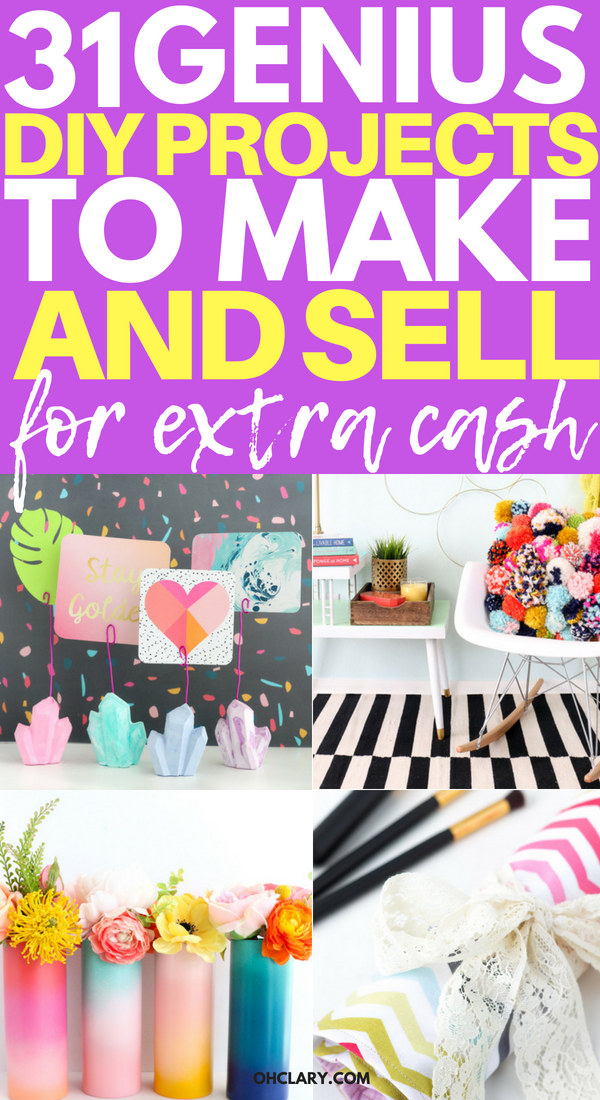 Hot Craft Ideas To Sell 30 Crafts To Make And Sell From