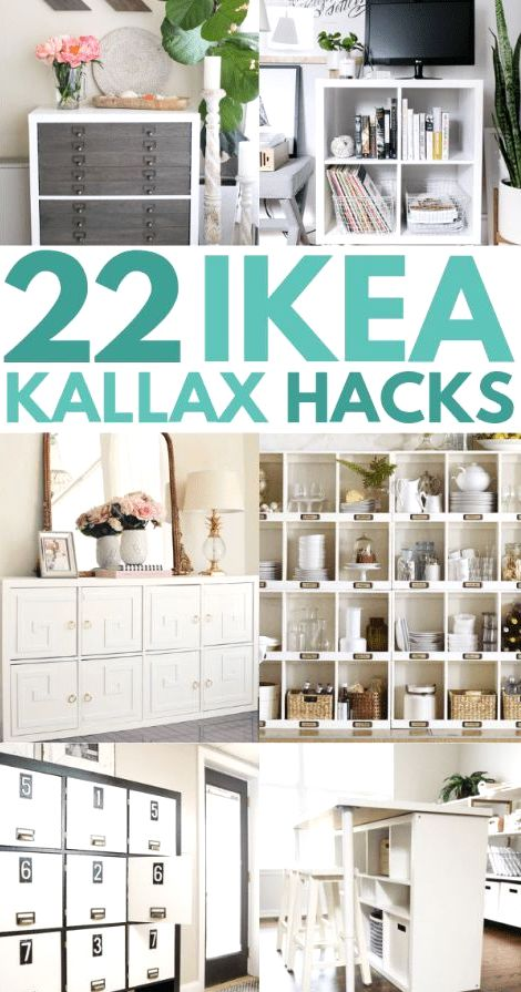 Are you looking for ideas for an Ikea kallax makeover? Try these awesome Ikea expedit hack and ideas for TV stand, bench seat, desk or a bookshelf on a small budget!