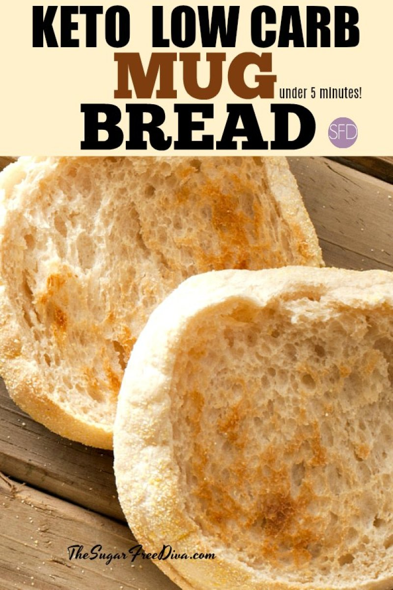 Keto Low Carb Mug Bread In Under 5 Minutes! #lowcarb #ketobread # #lowcarbsnack #lowcarbbread #lowcarbrecipes #keto #bestketobread