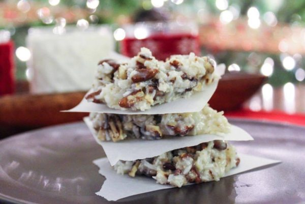 Holiday Praline No-Bake&Sugar-Free Cookies by My Montana Kitchen - 10 MUST TRY Keto Christmas Cookies Your Whole Family Will Love. Made with almond flour, stevia, cream cheeses and peanut butter. They are so easy anyone can do them. No baking experience needed. Perfect for Christmas of 2018. These keto cookies are what dreams are made of!