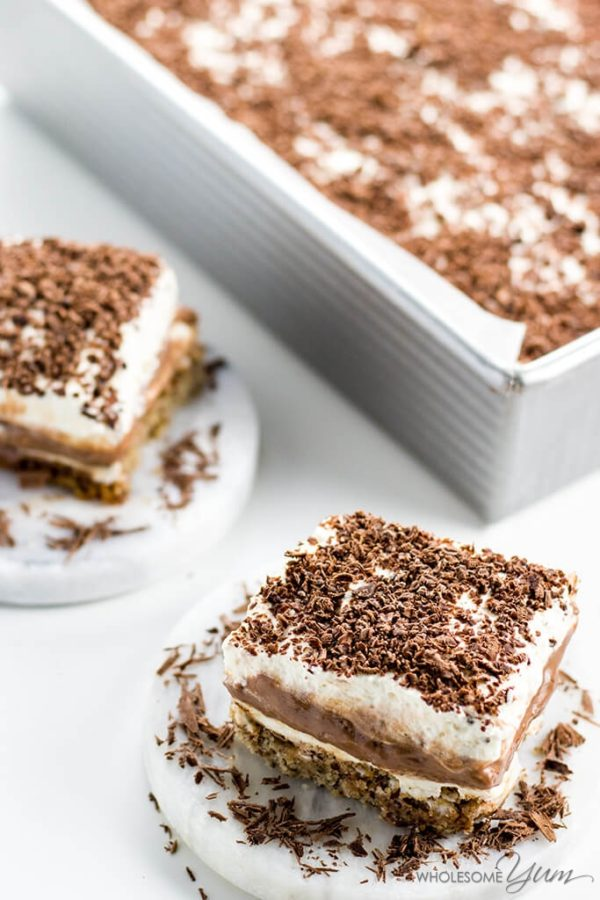 Sex In A Pan Low Carb Dessert - The Best 11 Keto Dessert Recipes! How can something so delicious be low carb and good for you?! You and your family will love-love-love these low carb ketogenic desserts and will be asking for seconds. Click to find out more and you won't regret!! #keto #ketodiet #ketorecipes #ketogenicdiet #ketogenic #lchf #lowcarb #lowcarbdiet #healthy #healthyrecipes #weightloss