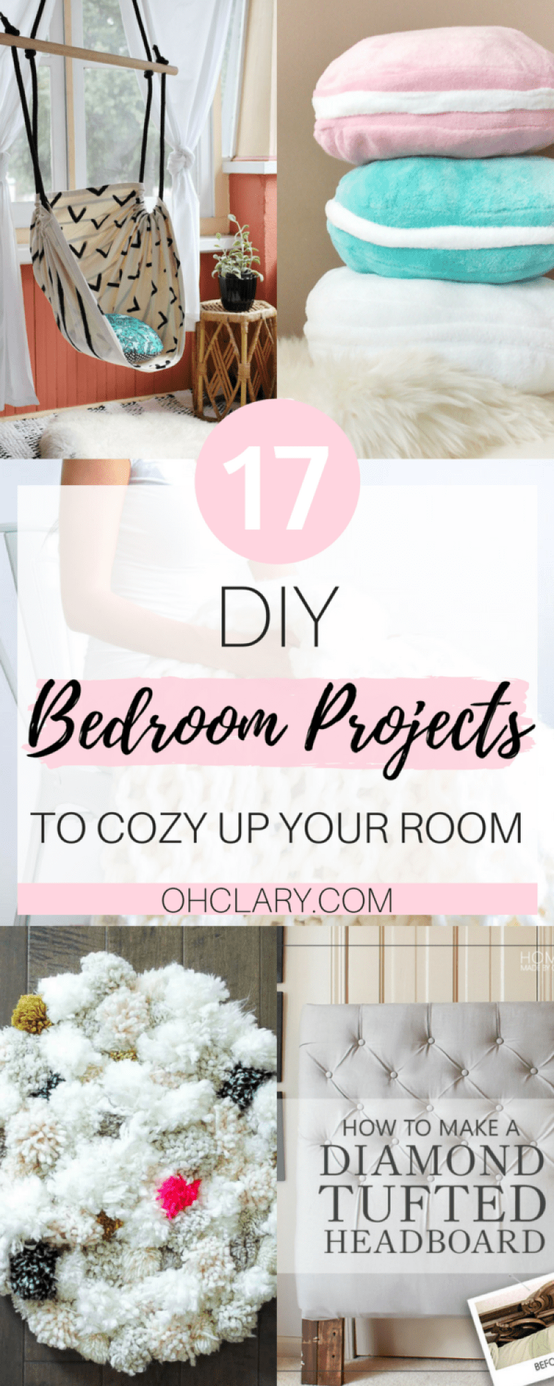 17 diy bedroom projects to make your room super cozy ohclary