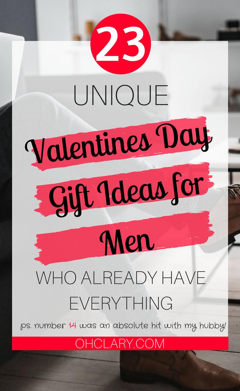 Unique Christmas Gift Ideas for Men Who Have Everything