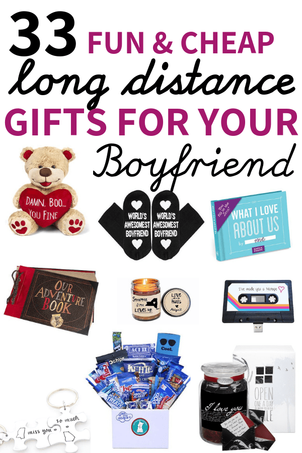 33 Cute Gifts For Long Distance Boyfriend (To surprise ...