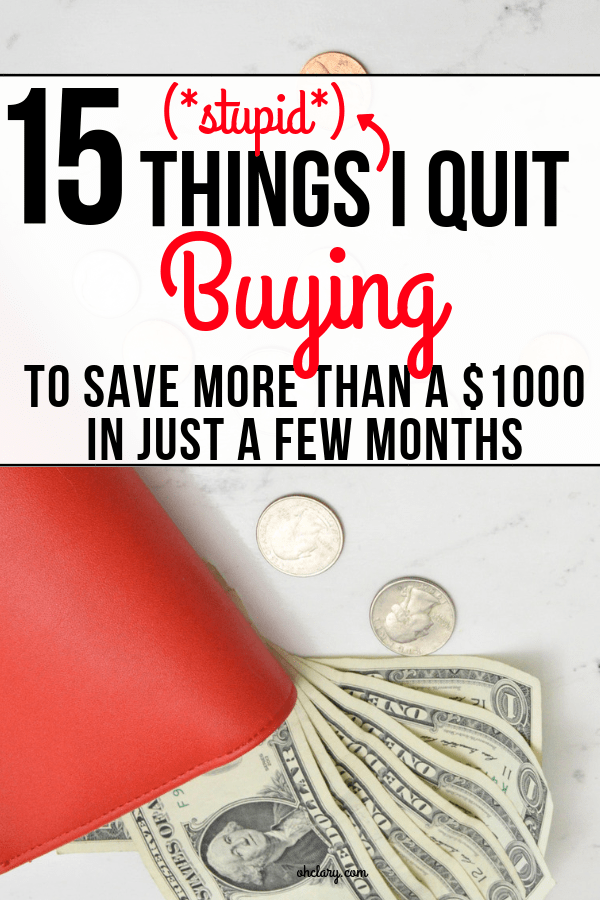 Saving money can be so easy if you just know how and start buying less! Are you wasting money on these dumb purchases without thinking about it? Best ideas and tips on saving money to finally get out of debt without depriving yourself.