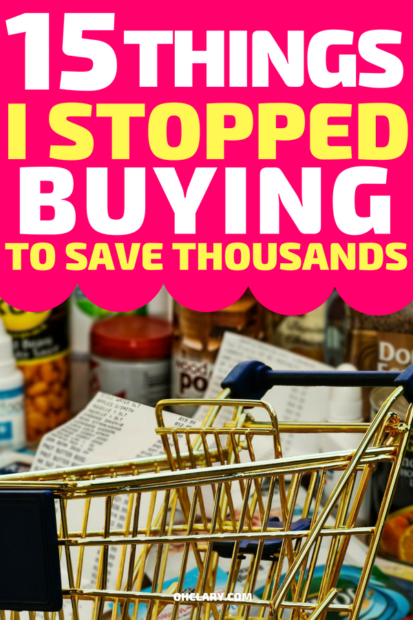 How to save money when living paycheck to paycheck? I managed to save thousand just by stopping to buy certain things. I am on a low income and managed to save money each week. Follow these tips to save money fast and get out of debt! #savingmoney #savemoney