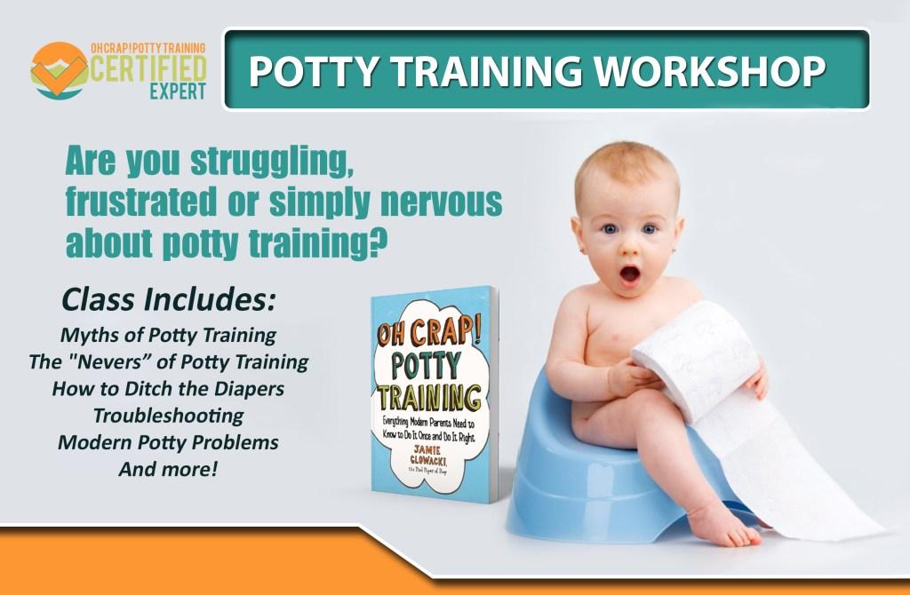 online potty training class