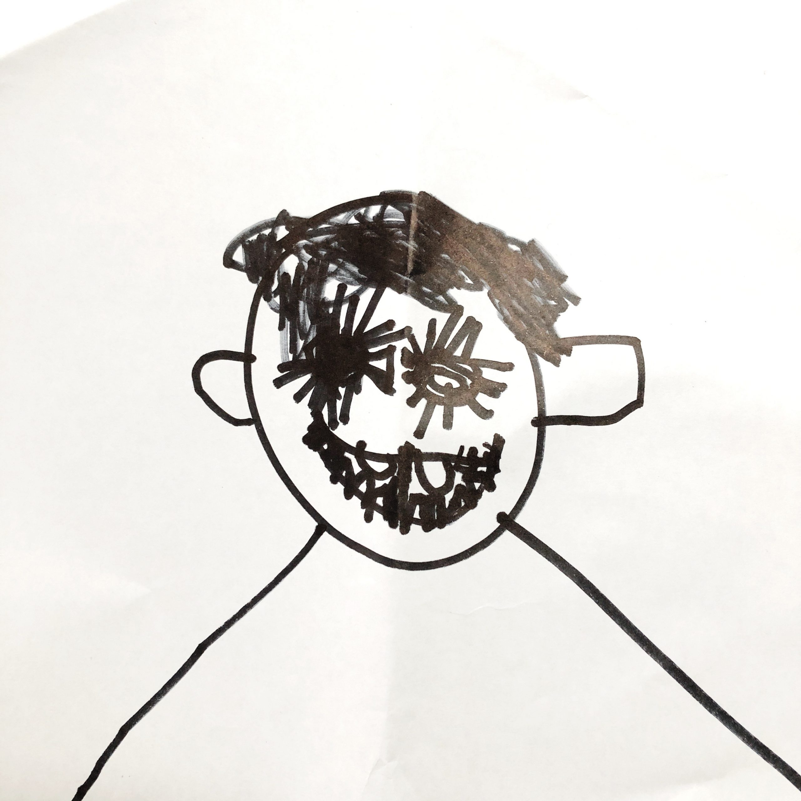 A Simple Drawing Game For Kids Pass The Portrait Oh Creative Day