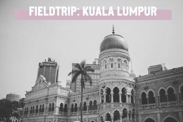 Fieldtrip in till centrala Kuala Lumpur