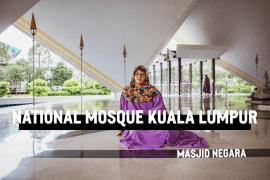 Nationalmoskén i Kuala Lumpur (Masjid Negara)