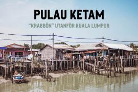 Pulau Ketam, en fiskeby utanför Kuala Lumpur