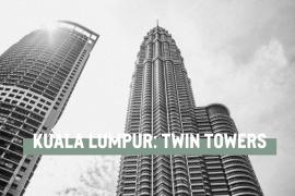 Besök Petronas Twin Towers i Kuala Lumpur