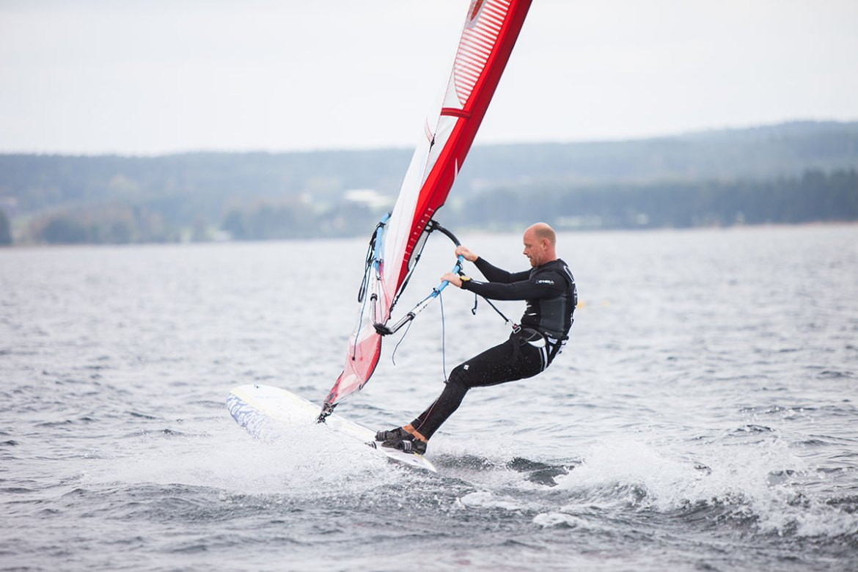 Kona Windsurfing SM 2014 in Varamobaden, Motala, Sweden.