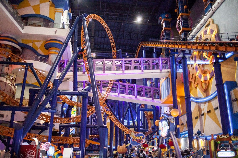 Berjaya Times Square Theme Park, Kuala Lumpur, Malaysia