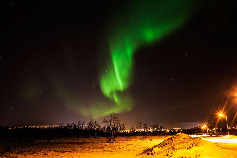 Norrsken, Kiruna, Swedish Lapland