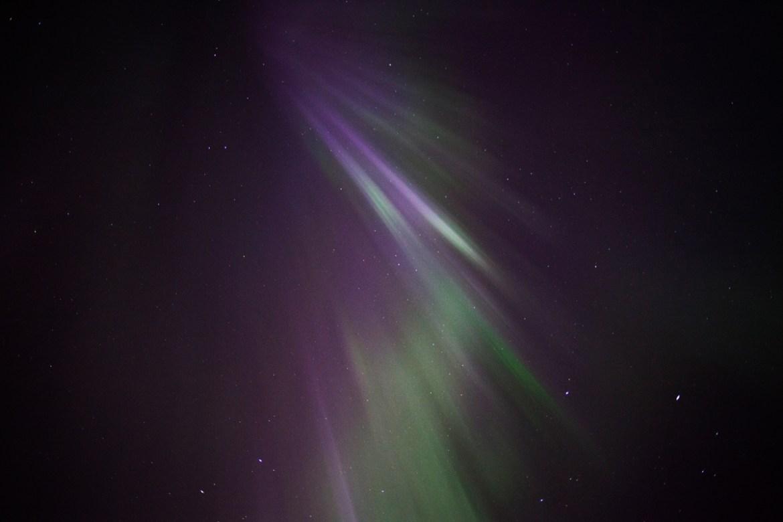 Norrsken // Northern Lights in Kiruna, Swedish Lapland