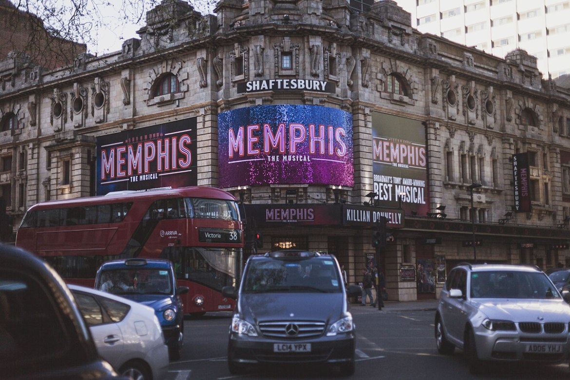 Memphis, Shaftesbury Theatre, London