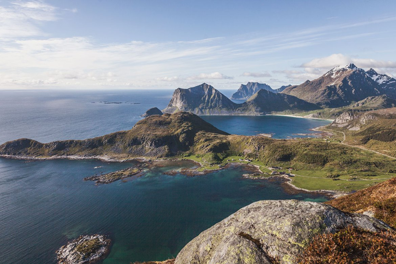 Offersøykammen, Lofoten, Norway