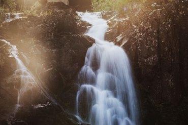Stalpet, det högsta vattenfallet i Södra Sverige