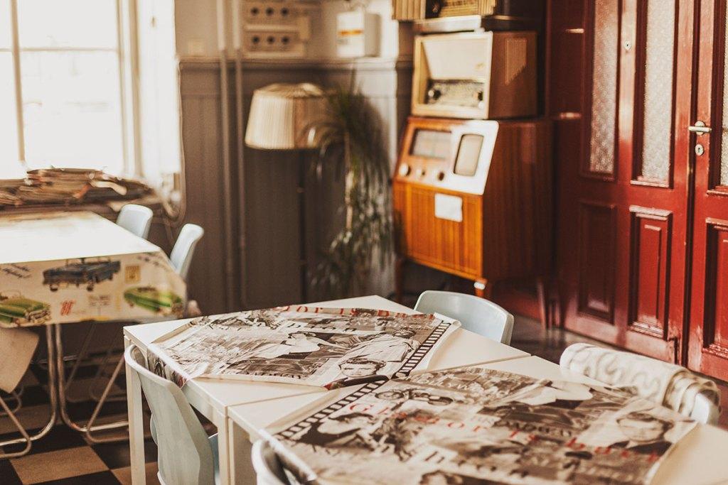 56:ans Café i Krylbo Dalarna
