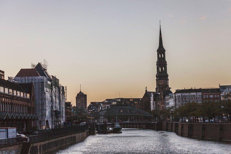 Hamburg Tyskland